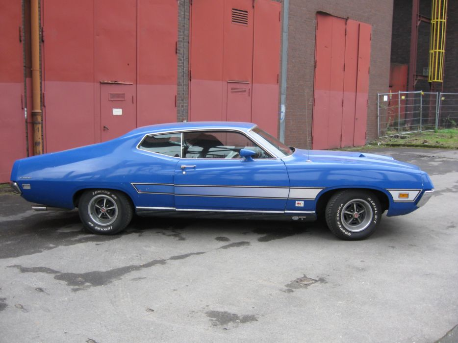 muscle classic 1970 Ford Torino f wallpaper