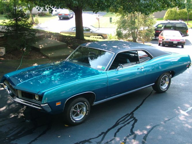 muscle classic 1971 Ford Torino g wallpaper