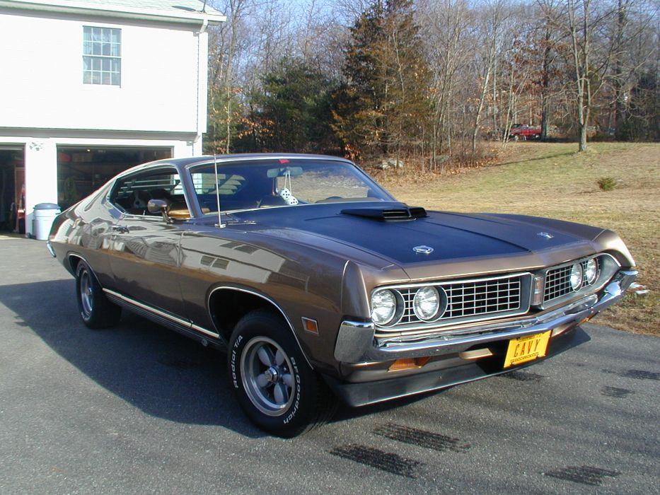 muscle classic 1971 Ford Torino   tm wallpaper