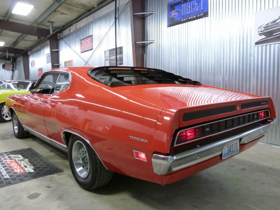muscle classic 1971 Ford Torino   tj_JPG wallpaper