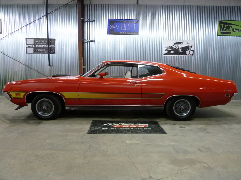 muscle classic 1971 Ford Torino   y_JPG wallpaper