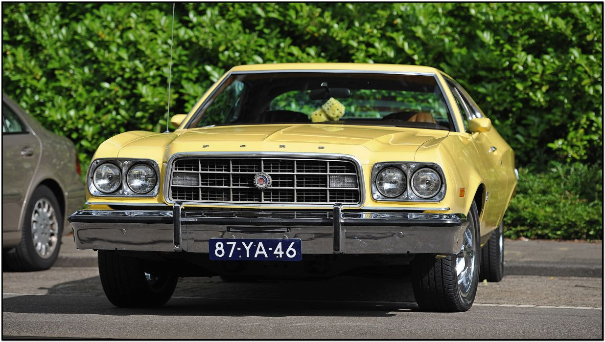 muscle classic 1973 Ford Torino    f wallpaper