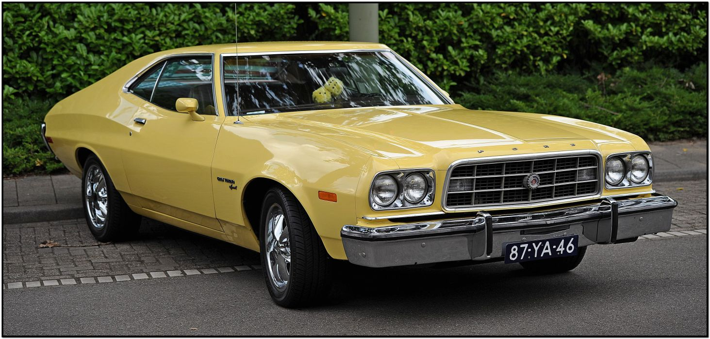 muscle classic 1973 Ford Torino   t wallpaper