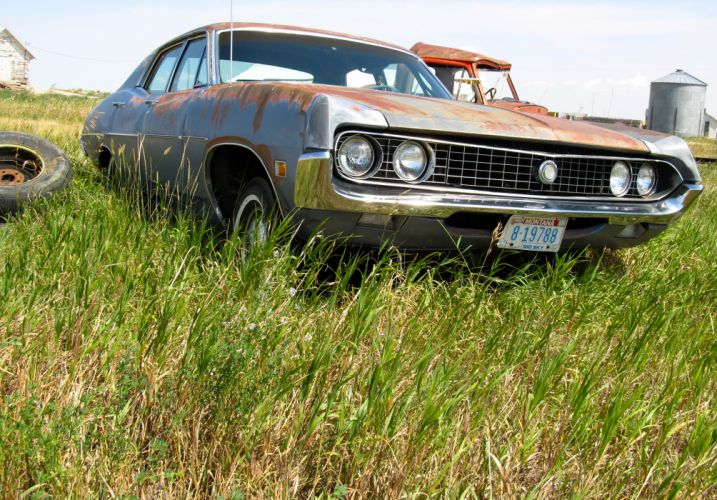muscle classic Ford Torino g wallpaper