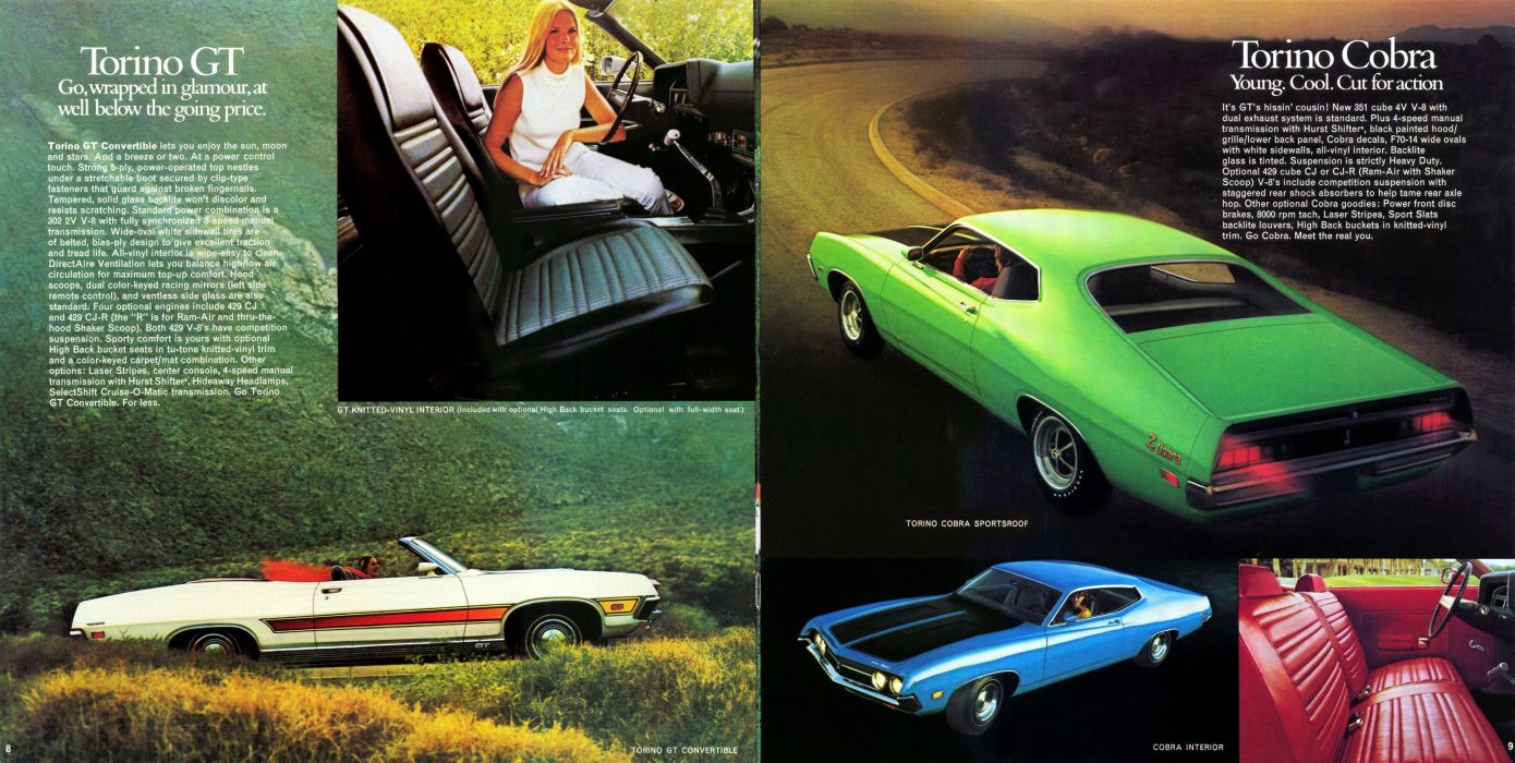 muscle classic Ford Torino     fs wallpaper