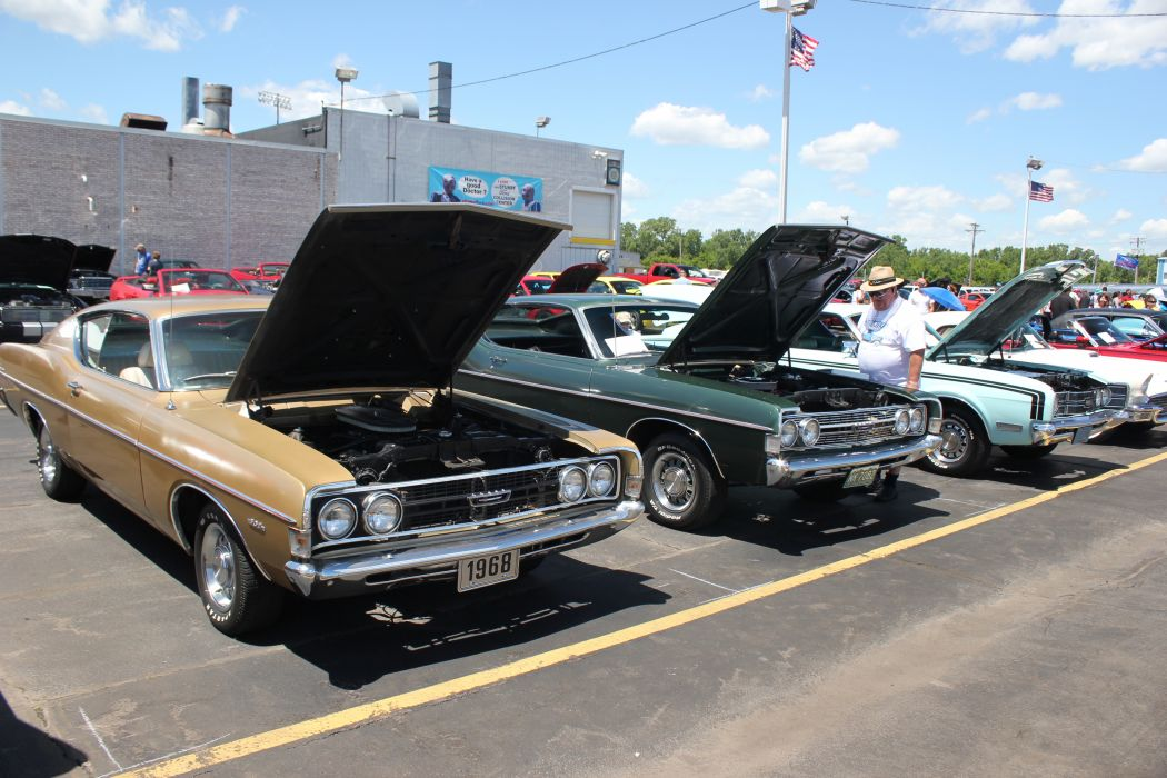 muscle classic Ford Torino     r wallpaper