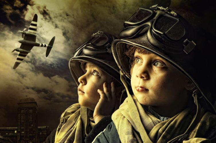 boys military cosplay f wallpaper