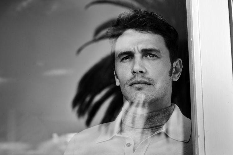 James Franco Men Glass Glance Window Celebrities wallpaper