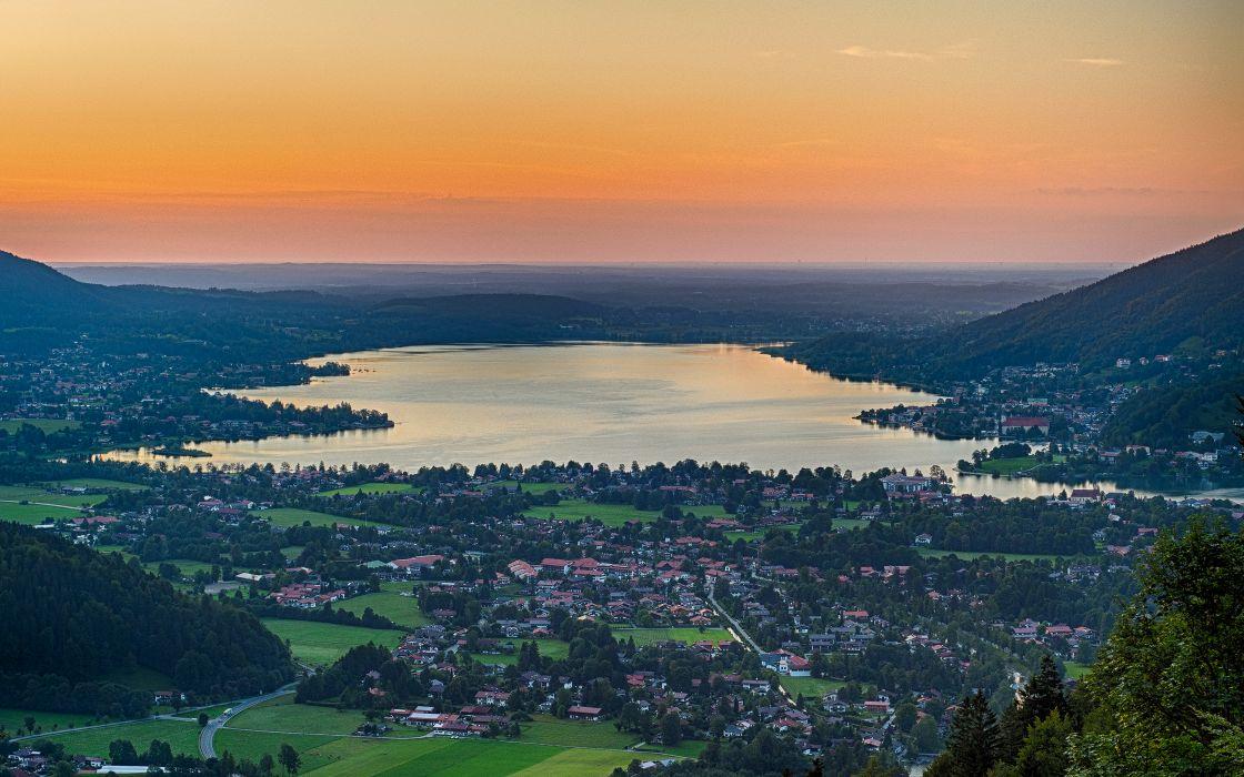 Lake Landscape wallpaper