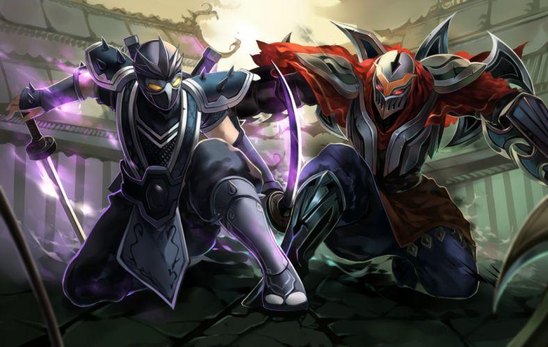 League of Legends fantasy warrior battle magic f wallpaper