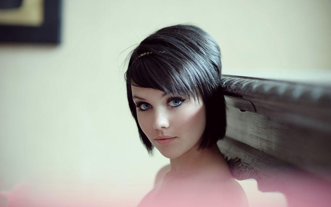 MELISSA CLARKE model brunette sexy babe   wf wallpaper