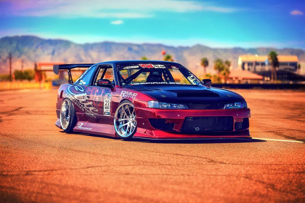 Nissan Silvia S14 drift tuning        g wallpaper