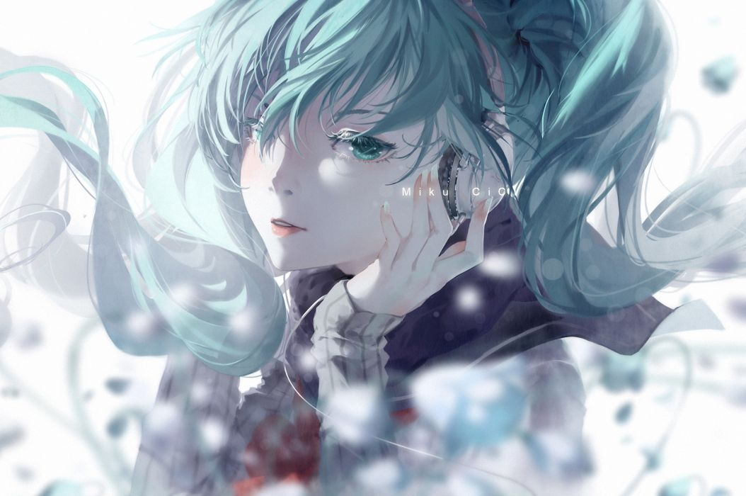 Vocaloid Hatsune Miku Anime Girls wallpaper