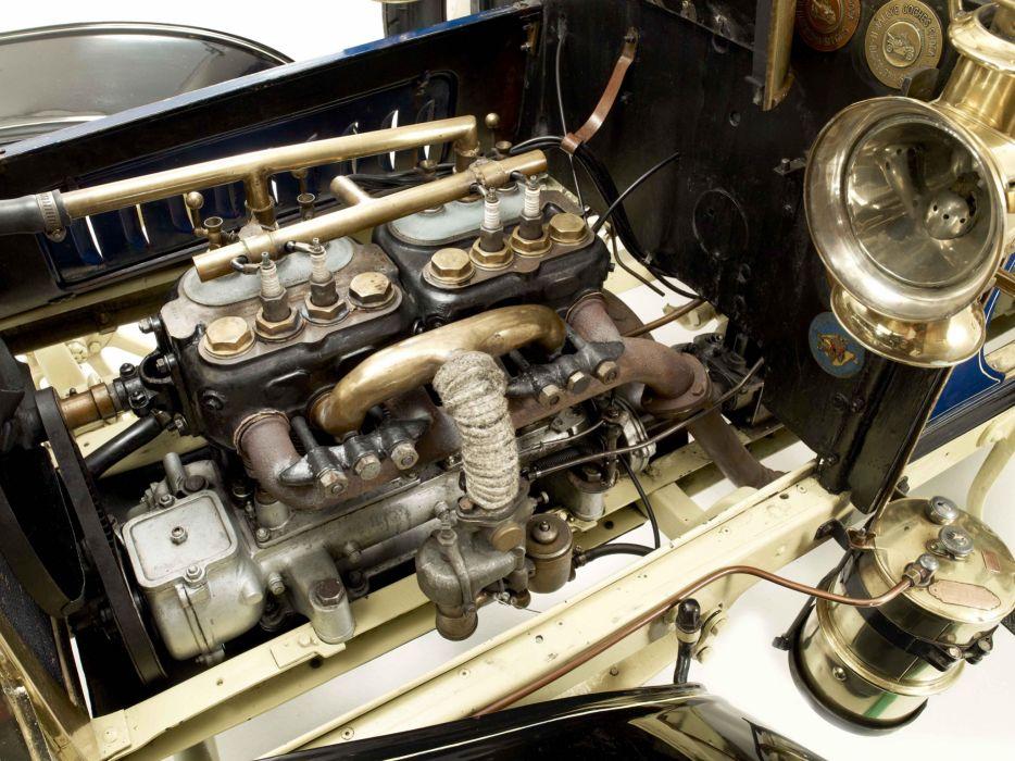 1903 Clement 12-16HP Rear-Entrance Tonneau retro engine        f wallpaper
