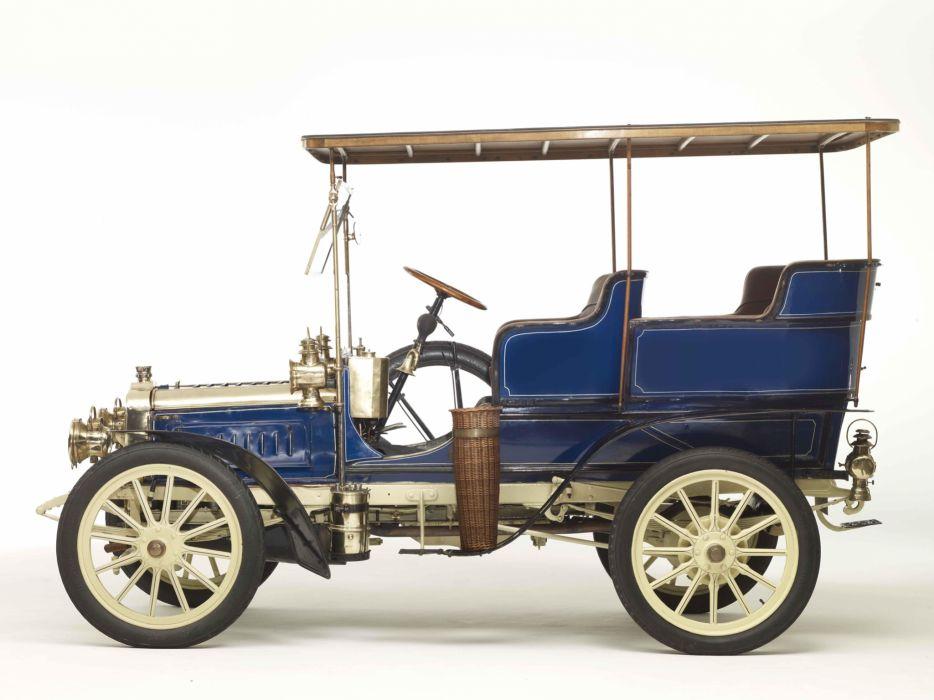 1903 Clement 12-16HP Rear-Entrance Tonneau retro  e wallpaper