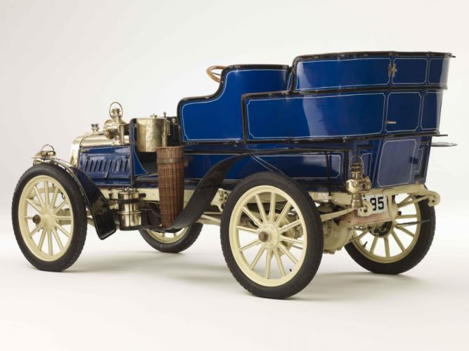 1903 Clement 12-16HP Rear-Entrance Tonneau retro d wallpaper