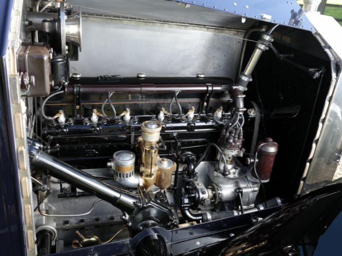 1928 Rolls Royce 20-HP Coupe Cabriolet by Barker luxury retro engine t wallpaper