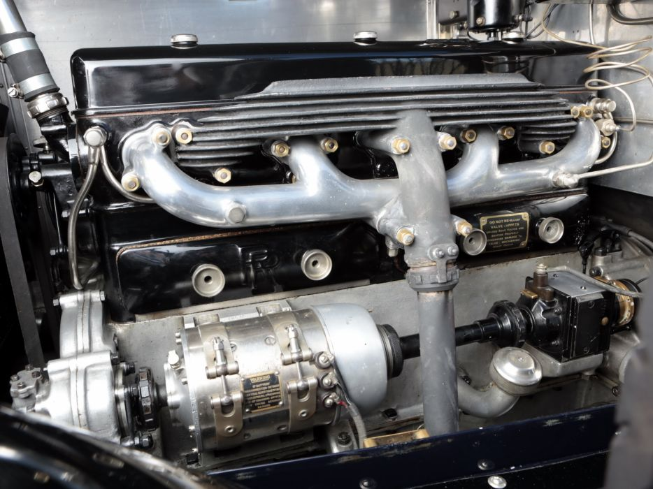 1928 Rolls Royce 20-HP Coupe Cabriolet by Barker luxury retro engine        h wallpaper
