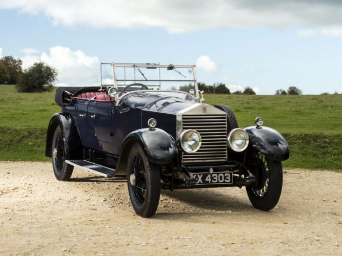 1928 Rolls Royce 20-HP Coupe Cabriolet by Barker luxury retro v wallpaper