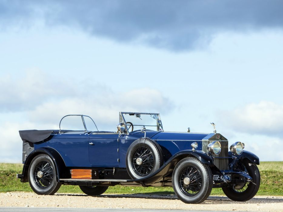 1928 Rolls Royce Phantom I 40-50HP Tourer by James Young luxury retro    r wallpaper