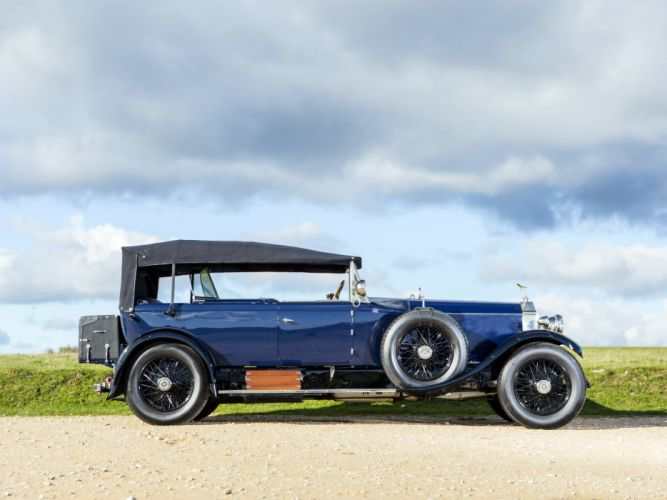 1928 Rolls Royce Phantom I 40-50HP Tourer by James Young luxury retro f wallpaper