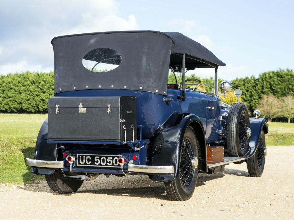 1928 Rolls Royce Phantom I 40-50HP Tourer by James Young luxury retro   d wallpaper