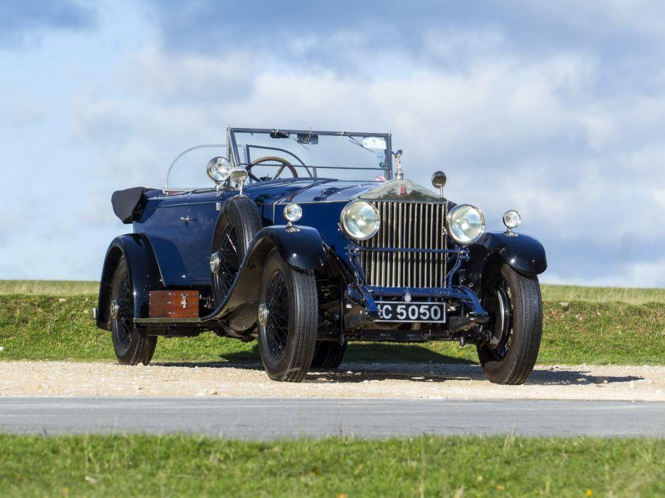 1928 Rolls Royce Phantom I 40-50HP Tourer by James Young luxury retro   dw wallpaper