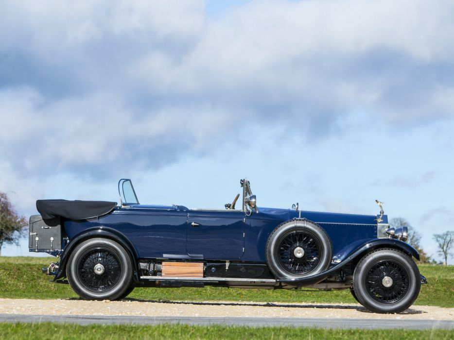 1928 Rolls Royce Phantom I 40-50HP Tourer by James Young luxury retro e wallpaper