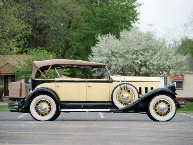 1930 Pierce Arrow Model-B Sport Phaeton luxury retro d wallpaper