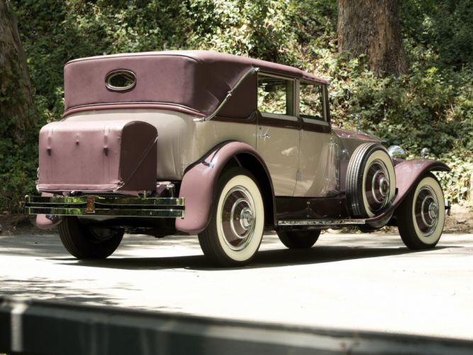 1931 Rolls Royce Phantom I Imperial Cabriolet by Hibbard Darrin luxury retro f wallpaper
