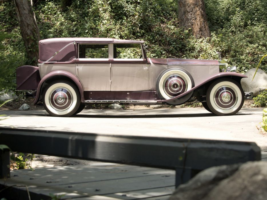 1931 Rolls Royce Phantom I Imperial Cabriolet by Hibbard Darrin luxury retro   r wallpaper