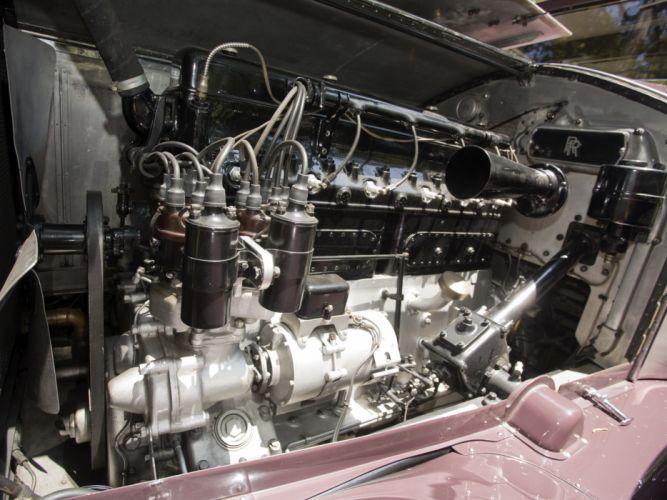 1931 Rolls Royce Phantom I Imperial Cabriolet by Hibbard Darrin luxury retro engine t wallpaper
