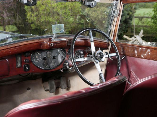 1931 Rolls Royce Phantom II Continental Touring Saloon by Mulliner luxury retro interior h wallpaper