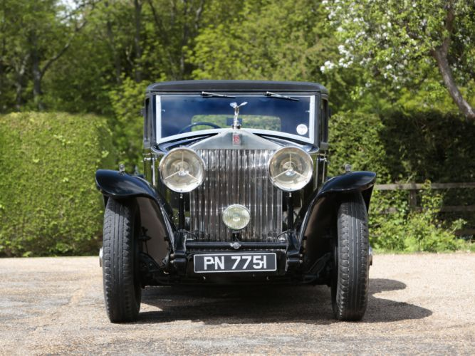 1931 Rolls Royce Phantom II Continental Touring Saloon by Mulliner luxury retro r wallpaper