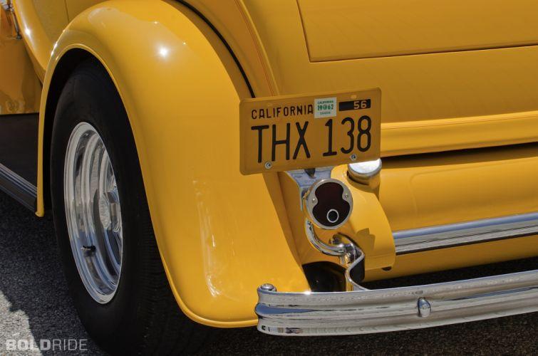 1932 Ford Three-Window Coupe hot rod rods retro wheel f wallpaper