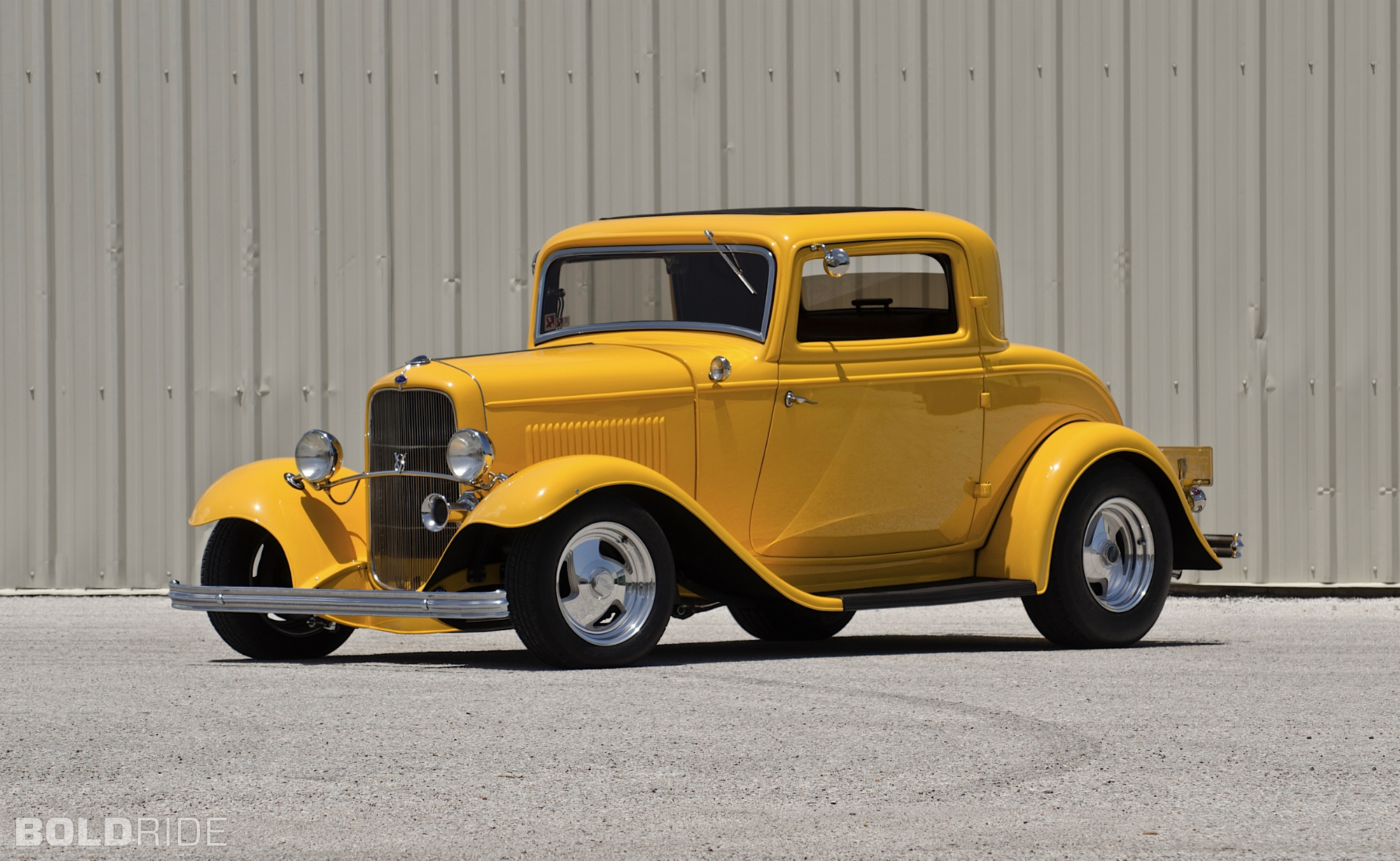 1932 Ford Three-Window Coupe hot rod rods retro g wallpaper ...