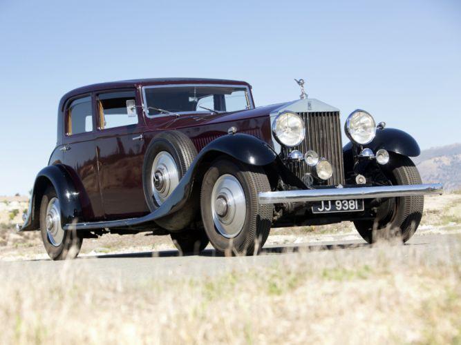 1933 Rolls Royce Phantom II Continental Touring Saloon by Barker luxury retro rw wallpaper