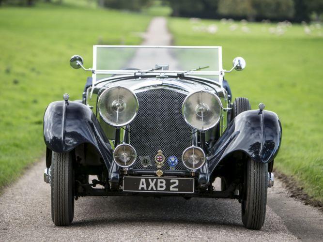 1934 Bentley Tourer by Lancefield Corsica retro f wallpaper