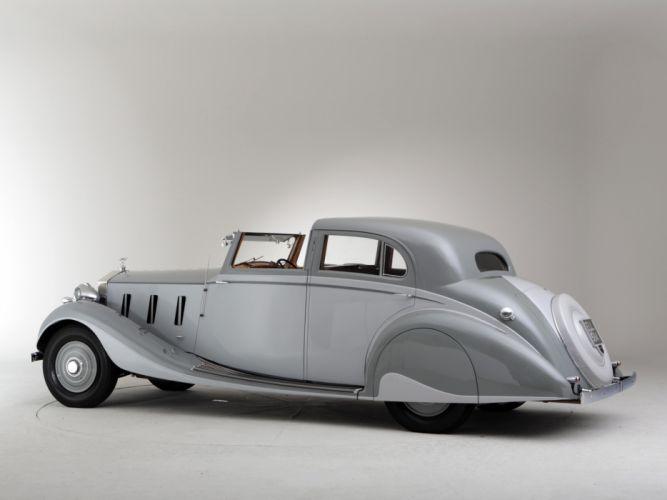 1937 Rolls Royce Phantom III Sports Sedanca de Ville Gurney Nutting retro luxury f wallpaper