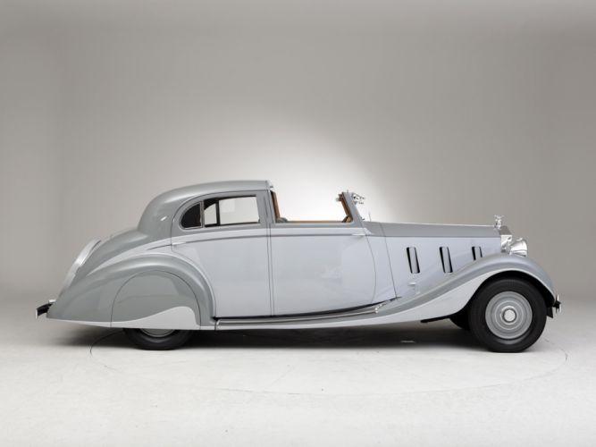1937 Rolls Royce Phantom III Sports Sedanca de Ville Gurney Nutting retro luxury r wallpaper