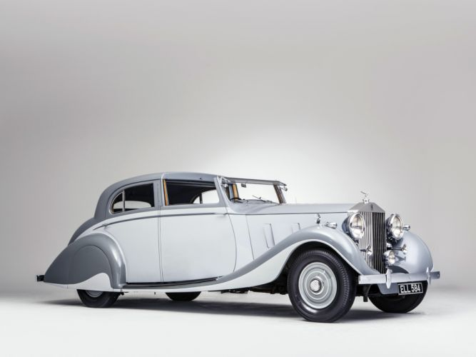 1937 Rolls Royce Phantom III Sports Sedanca de Ville Gurney Nutting retro luxury r wallpaper