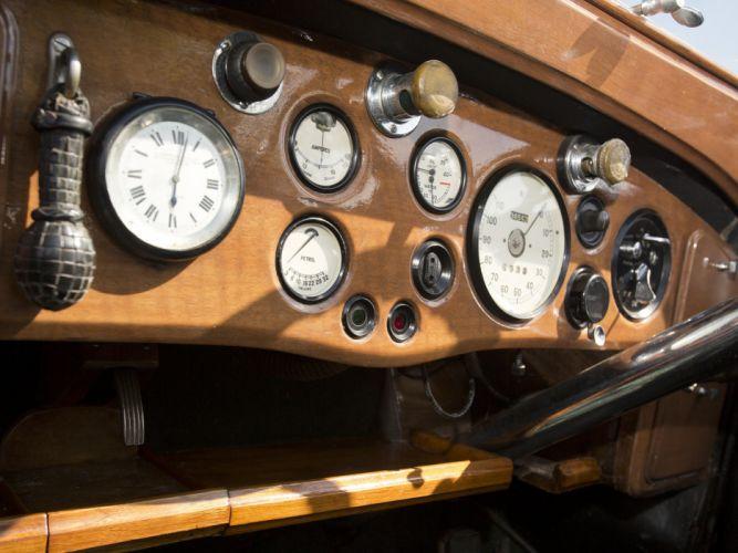 1938 Rolls Royce Phantom III Four Light Cabriolet Freestone Webb luxury retro interior g wallpaper