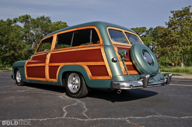 1949 Mercury Woodie StationWagon hot rod rods retro s wallpaper
