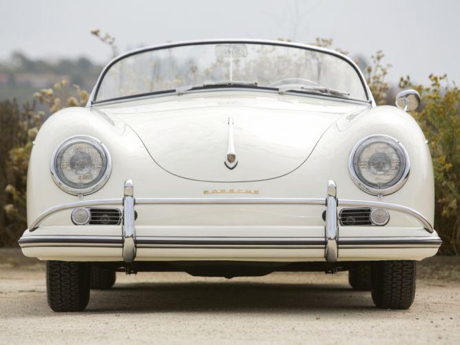 1955 Porsche 356A 1500 GS Carrera Speedster by Reutter US-spec (T1) retro g-s t-1 g wallpaper