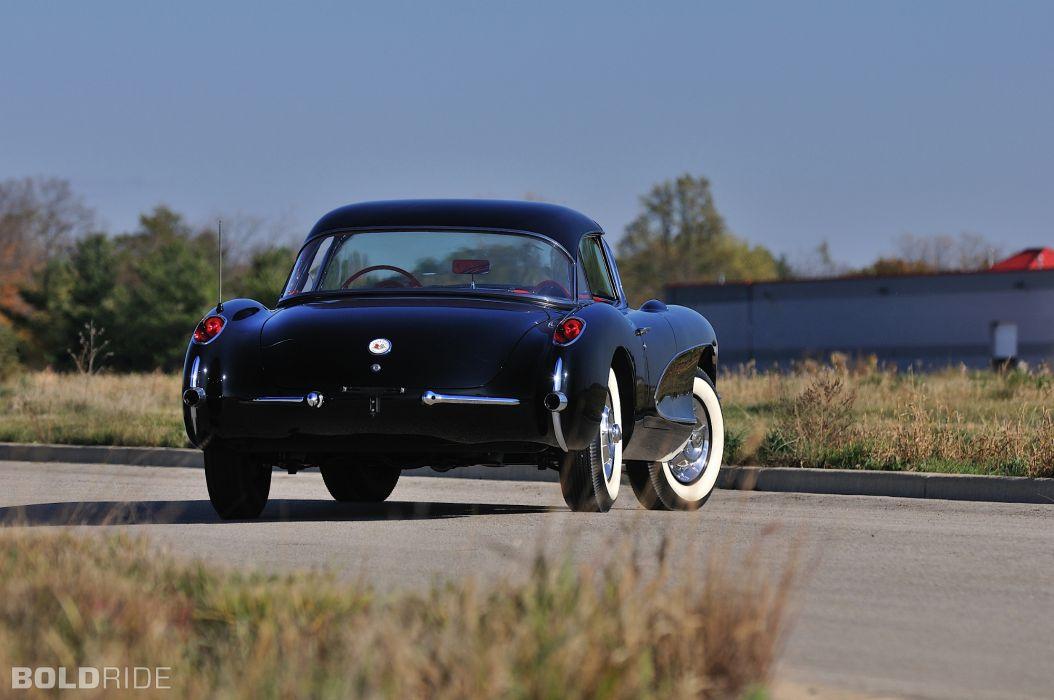 1956 Chevrolet Corvette Resto Mod retro supercar muscle   rw wallpaper