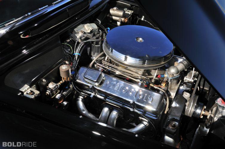 1956 Chevrolet Corvette Resto Mod retro supercar muscle engine f wallpaper
