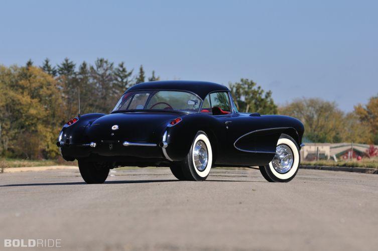1956 Chevrolet Corvette Resto Mod retro supercar muscle r wallpaper
