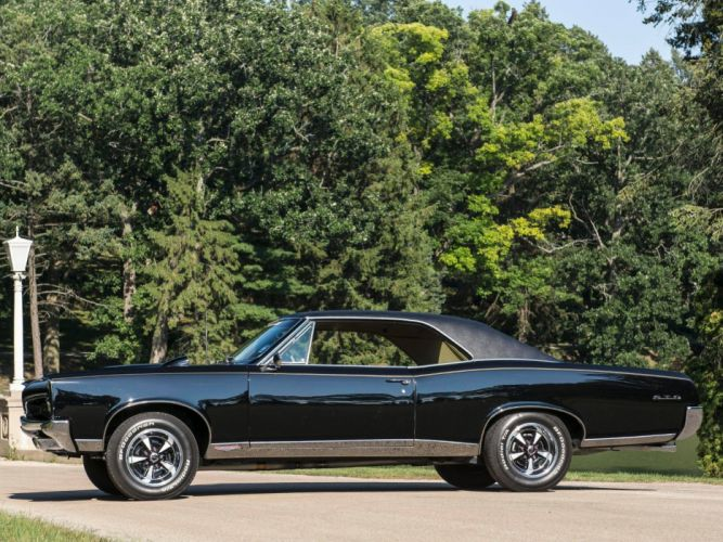 1967 Pontiac Tempest GTO Hardtop Coupe muscle classic f wallpaper