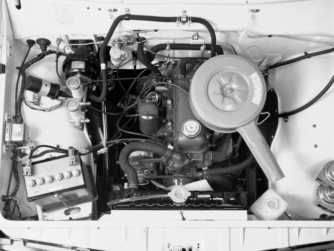 1972 Datsun Pickup (620) engine g wallpaper