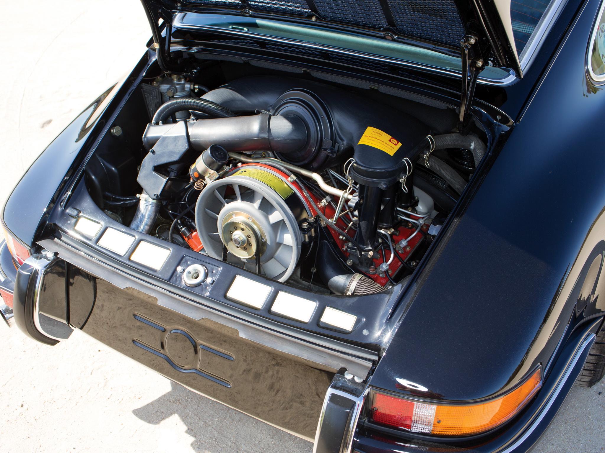 1972 Porsche 911 Carrera RS 2_7 Touring UK-spec 911 engine w ...